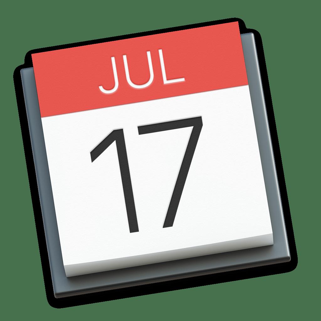 icon - macOS Calendar