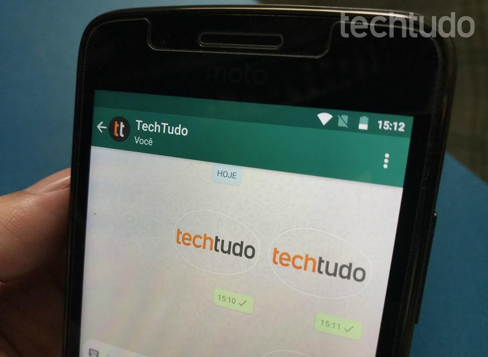 Sticker Maker app creates custom stickers for WhatsApp Photo: Rodrigo Fernandes / TechTudo