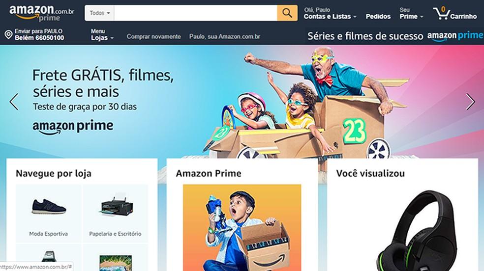 Amazon payment is made through bank deposit Photo: Reproduo / Amazon