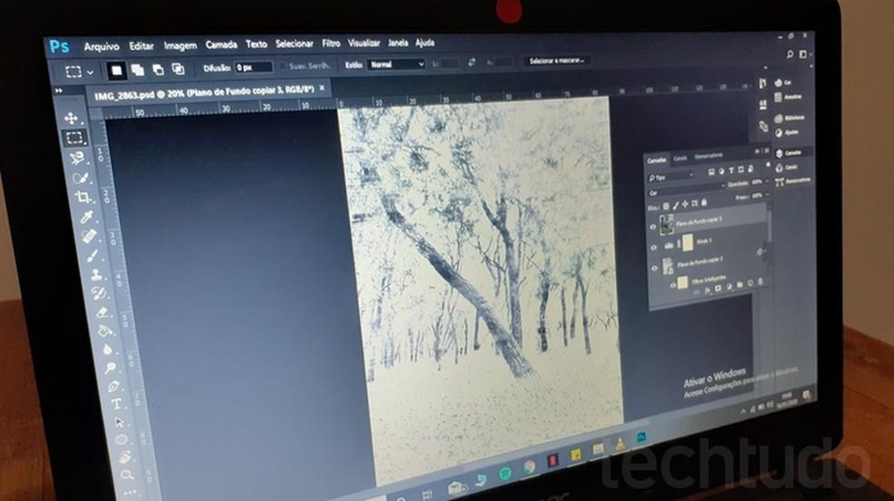 Tutorial teaches how to transform photos into drawings by Photoshop Photo: Joo Pedro Voltarelli / TechTudo