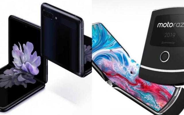 Galaxy Z Flip vs Motorola Razr: see who takes the best in the state comparison.