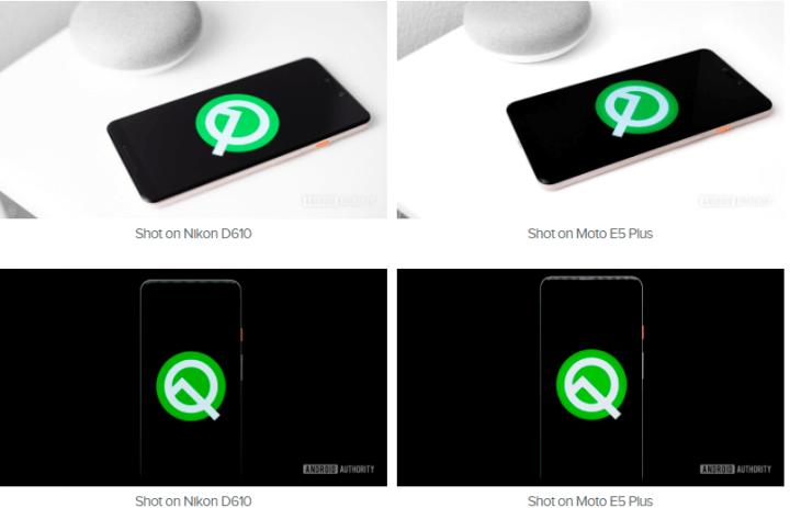 Android Camera Moto E5 Plus