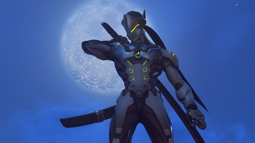 Genji, one of the main heroes in Overwatch