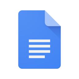 Google Docs app icon