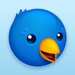Twitterrific app icon: Tweet Your Way