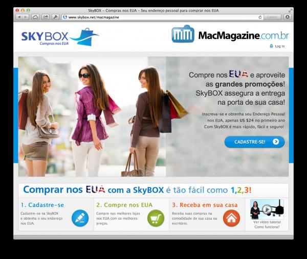 SkyBOX and  on Safari