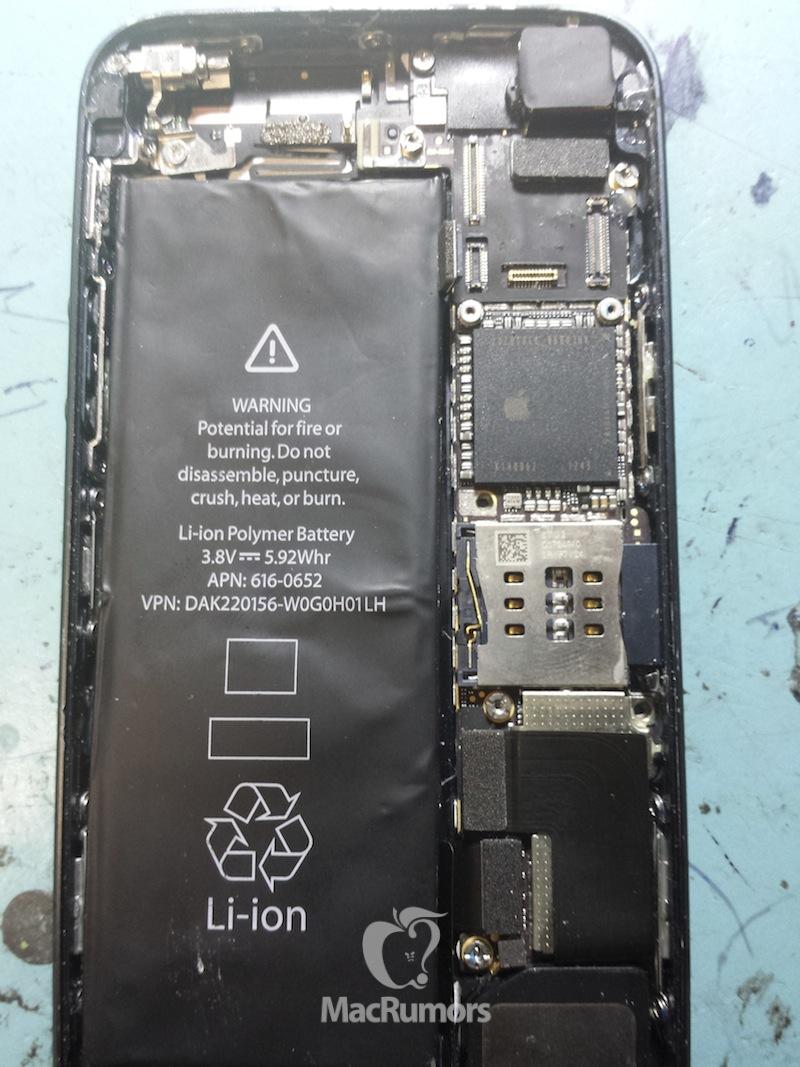 Supposed iPhone 5S prototype