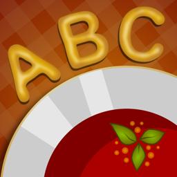 Alphabet soup app icon