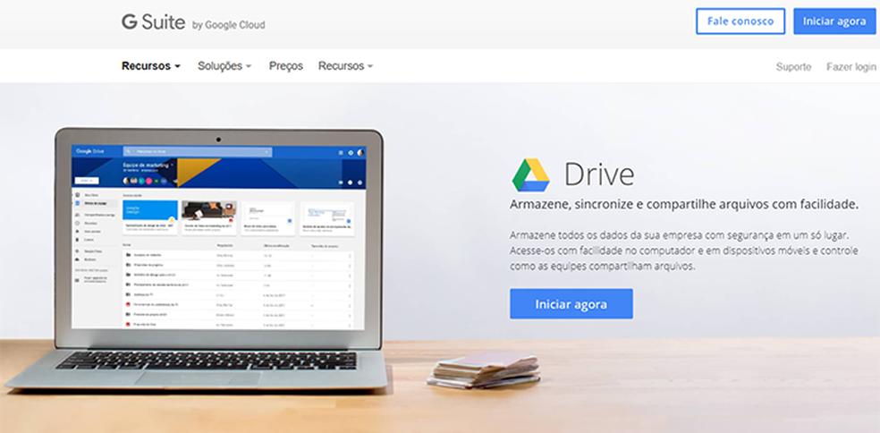 Google Drive securely stores data in the cloud Photo: Reproduo / Filipe Garrett
