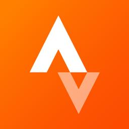 Strava app icon - Run and pedal
