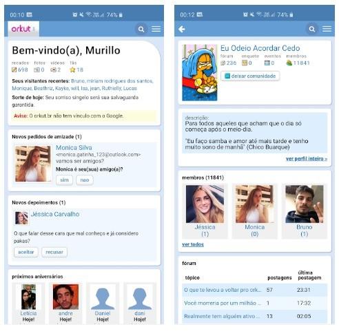 Orkut returned?