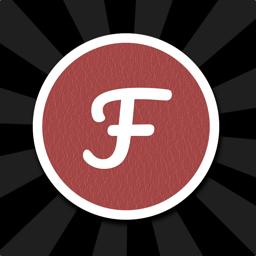 Fontpress app icon: Write PhotoText