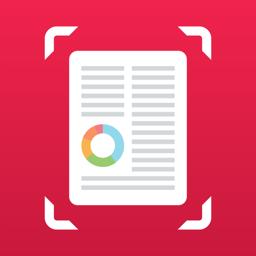 Scanner app icon - PDF, Fax, QR