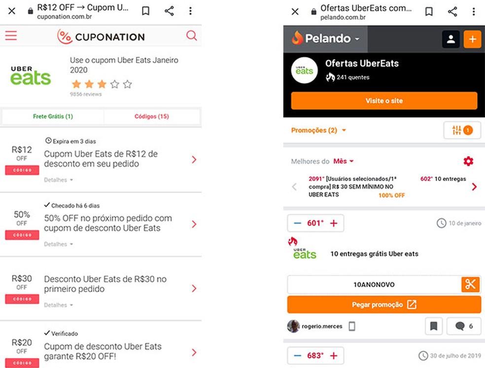 Coupon apps decrease the final value of purchases Photo: Reproduo / Fernanda Lutfi