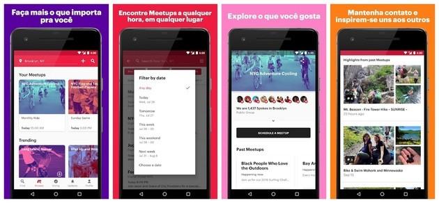 Meetup friendship app