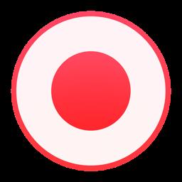 Just Press Record app icon