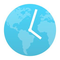 World Clock Time Widget app icon