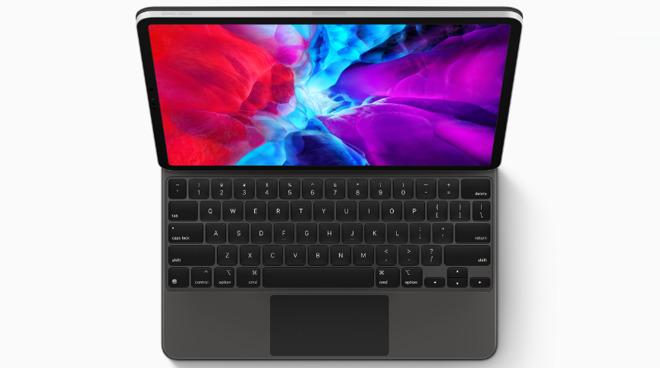 IPad Pro keyboard with touchpad