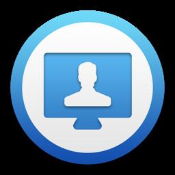 Desktop Social app icon: with Ad Blocker, Messenger, Browser, Notification & Customization