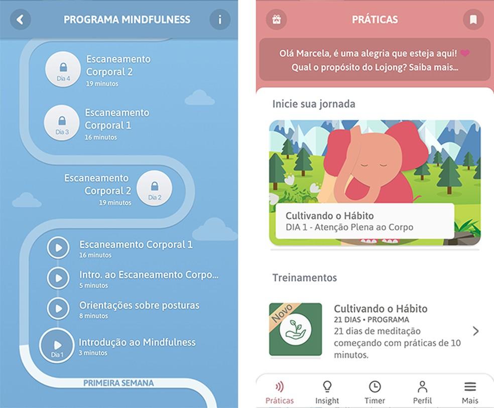 Lojong has Mindfulness program to control anxiety Photo: Reproduo / Marcela Franco