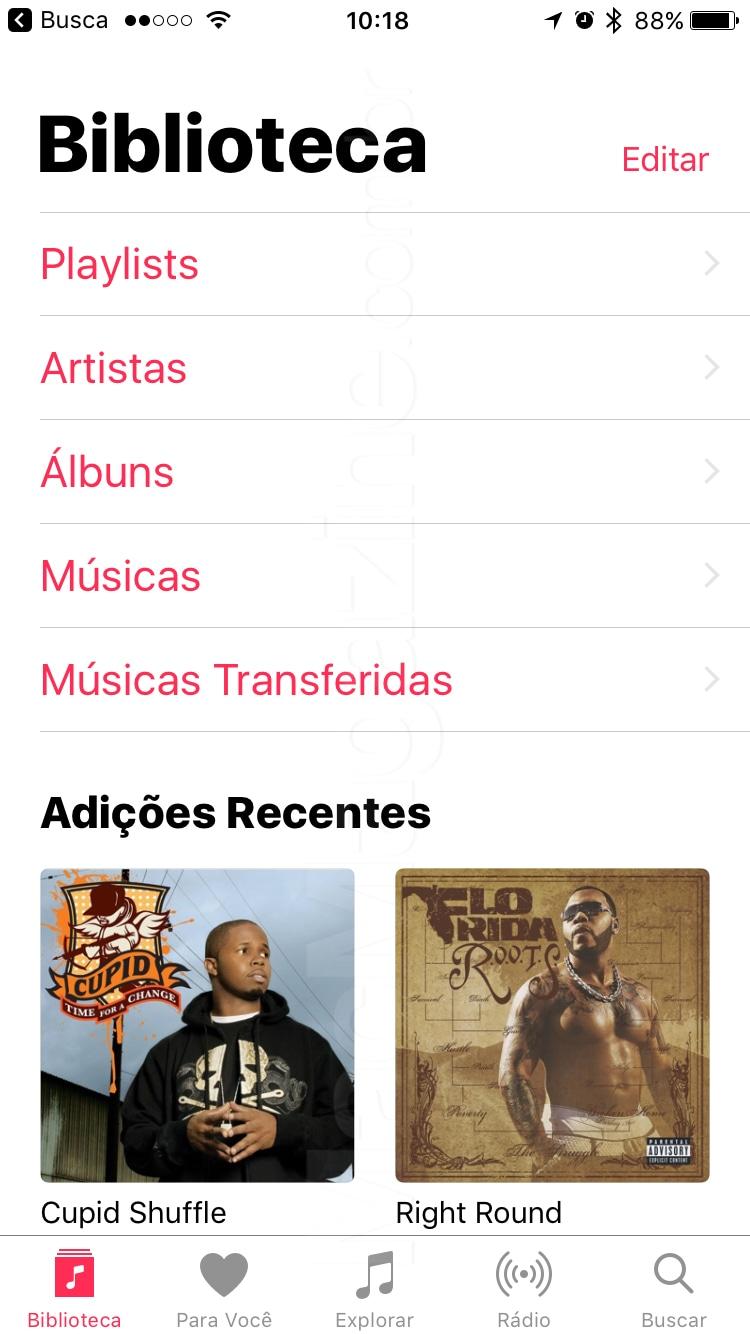 IOS 10 beta screenshot