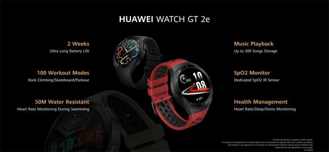 Huawei announces its new Huawei Watch GT 2e smartwatch