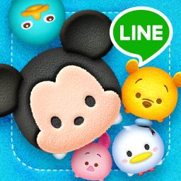 LINE app icon: Disney Tsum Tsum