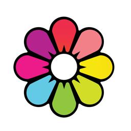 Recolor app icon: Coloring Book
