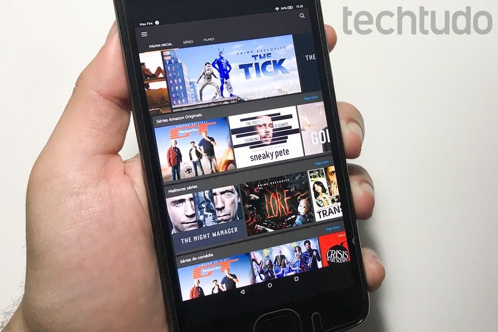 Amazon Prime Video allows you to erase history by PC and cell phone Photo: Rodrigo Fernandes / TechTudo