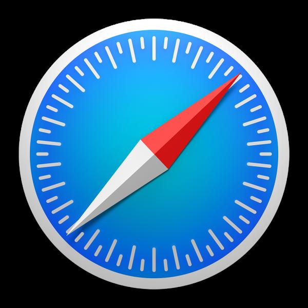 Safari icon on OS X Yosemite