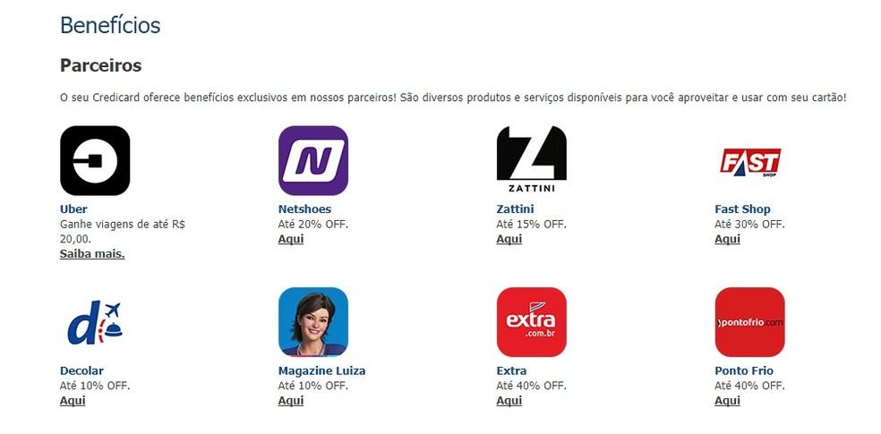 Credicard Zero has discounts on partners Photo: Reproduo / Bruno Soares