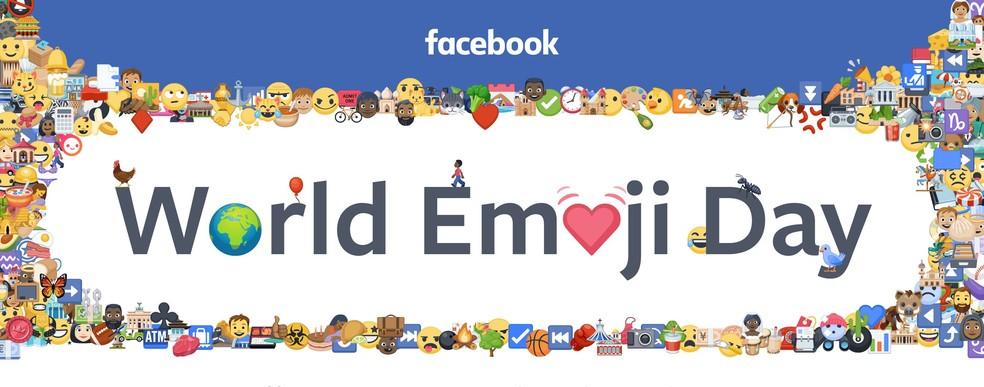 Facebook revealed the most used emojis Photo: Divulgao / Facebook