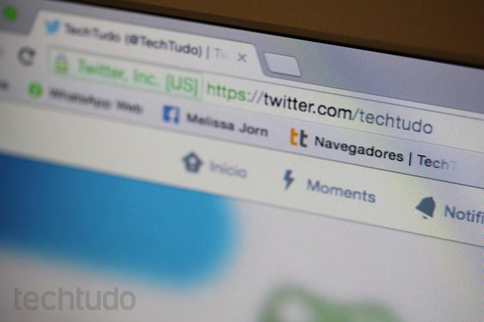 Google has yet to disclose which alternative to address bar Photo: Melissa Cruz / TechTudo