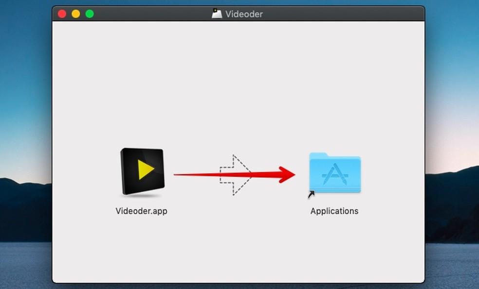 Install Videoder on macOS Photo: Reproduo / Helito Bijora