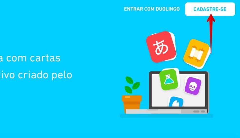 Create a free account Photo: Reproduo / Helito Bijora