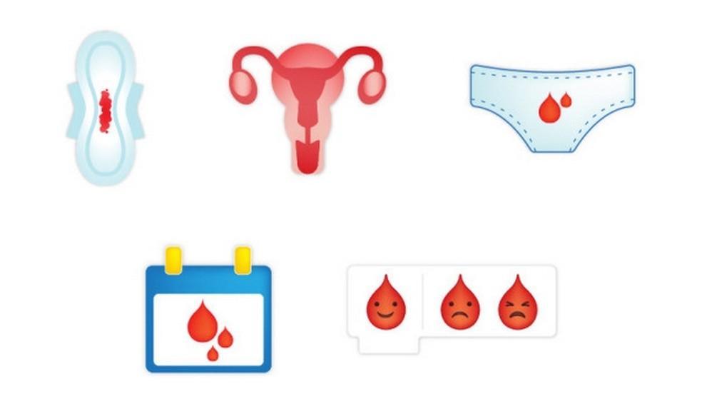 Emojis that participated in the previous Plan International campaign Photo: Divulgao / Plan International UK