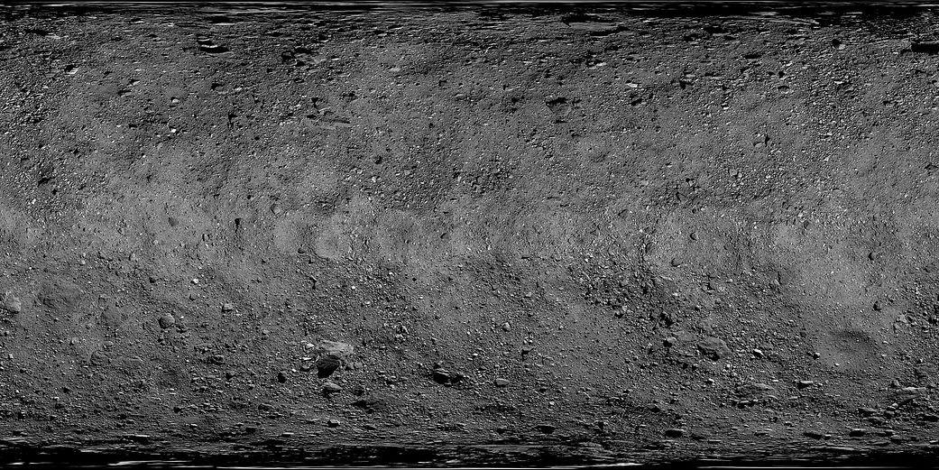 tek Surface of Bennu