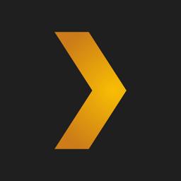 Plex app icon: Movies, TV, Music + more