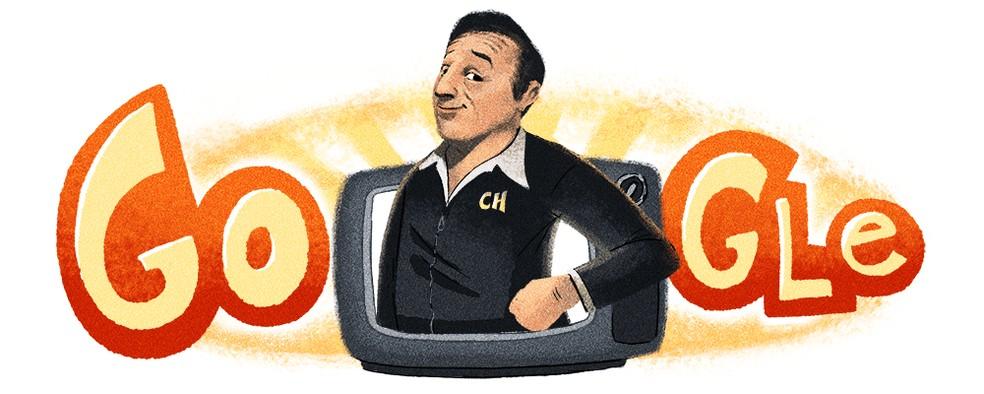 Google Doodle honors Roberto Bolaos, creator of Chaves and Chapolin Photo: Reproduo / Google