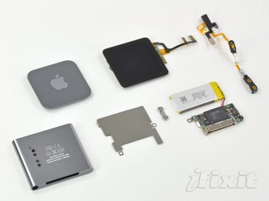 iPod nano 6G disassembled; iFixit