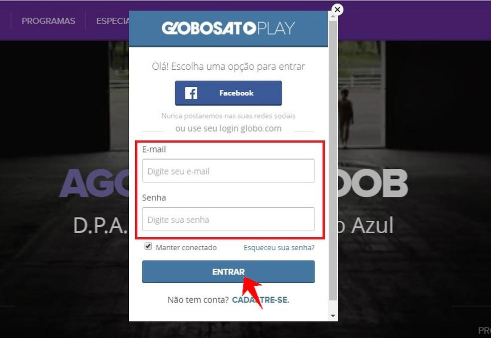 Accessing Gloob Play on your computer Photo: Reproduo / Rodrigo Fernandes