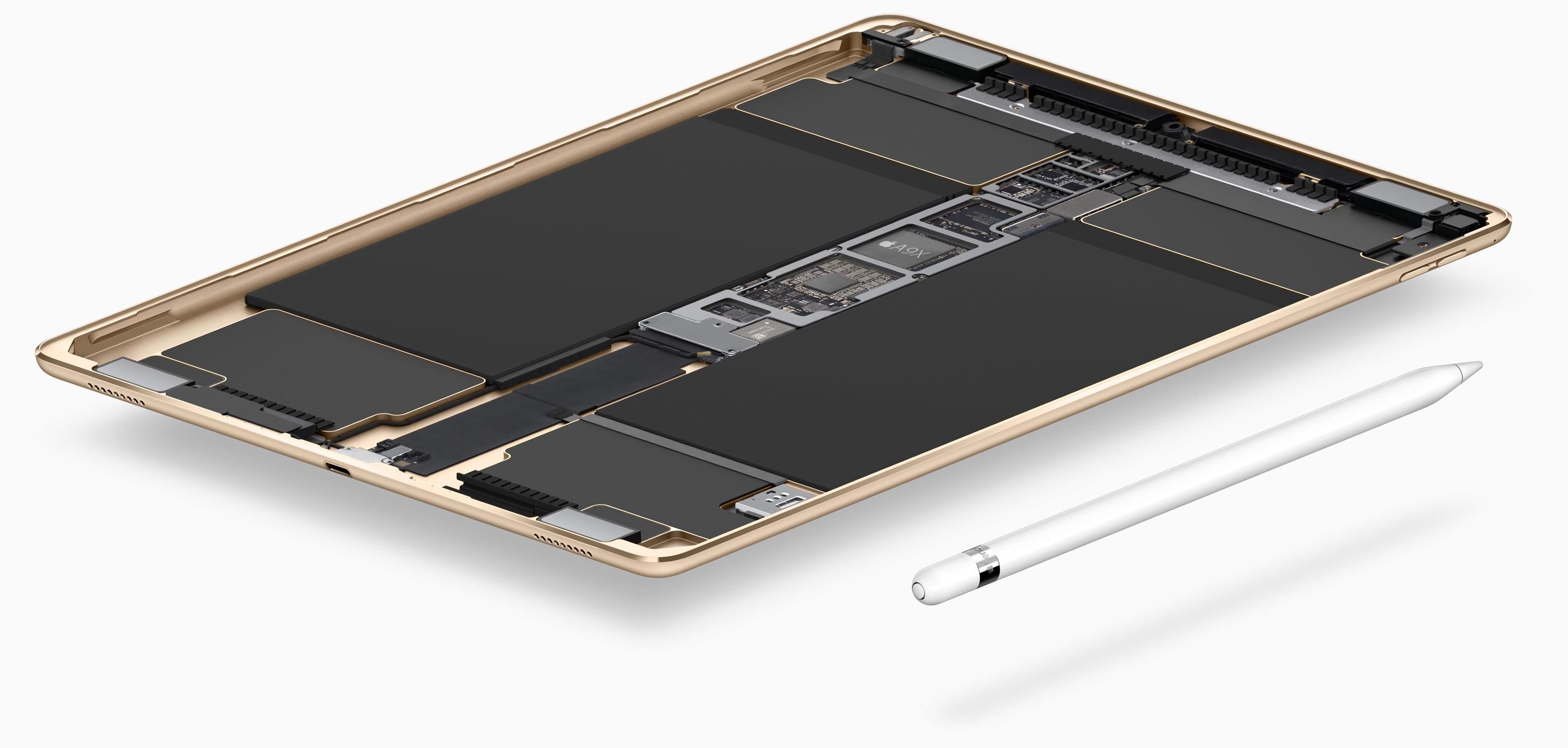 9.7-inch iPad Pro interior