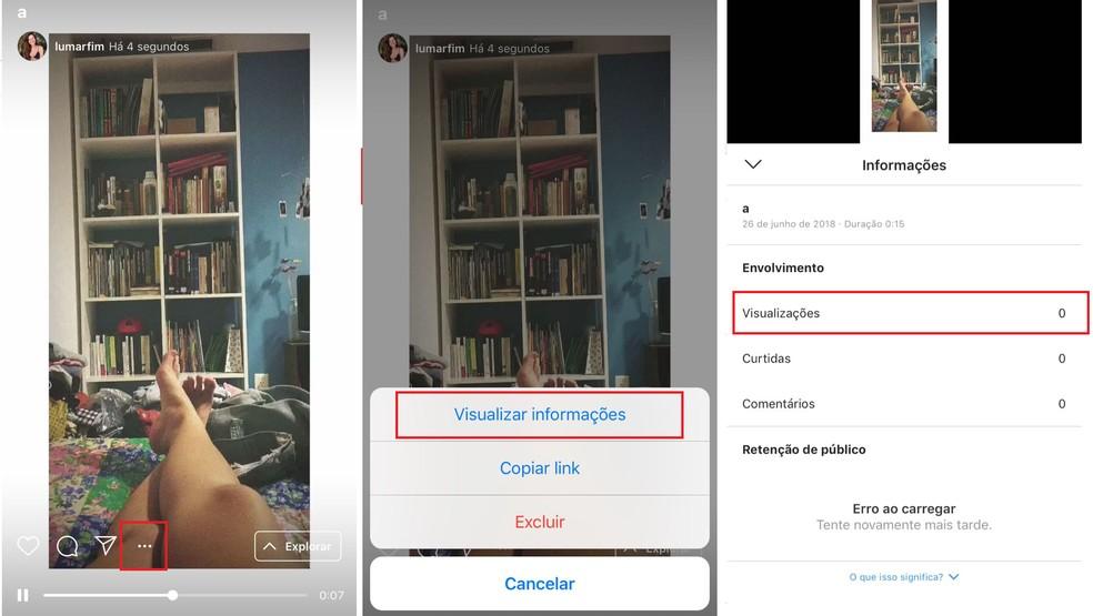 Impressions of a video on IGTV on Instagram Photo: Reproduo / Luana Marfim
