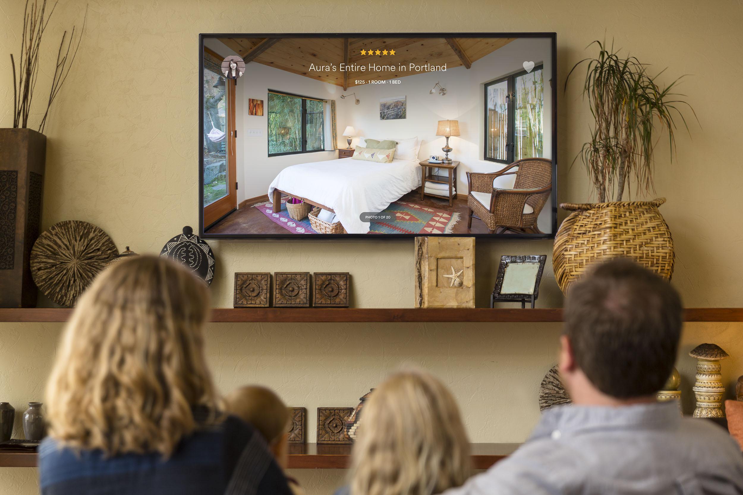 Airbnb on Apple TV