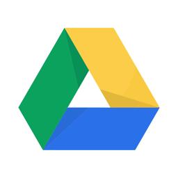 Google Drive app icon - storage