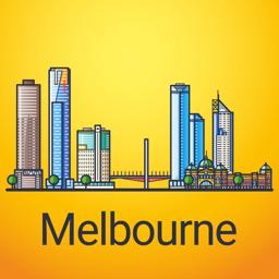 Melbourne Travel Guide app icon