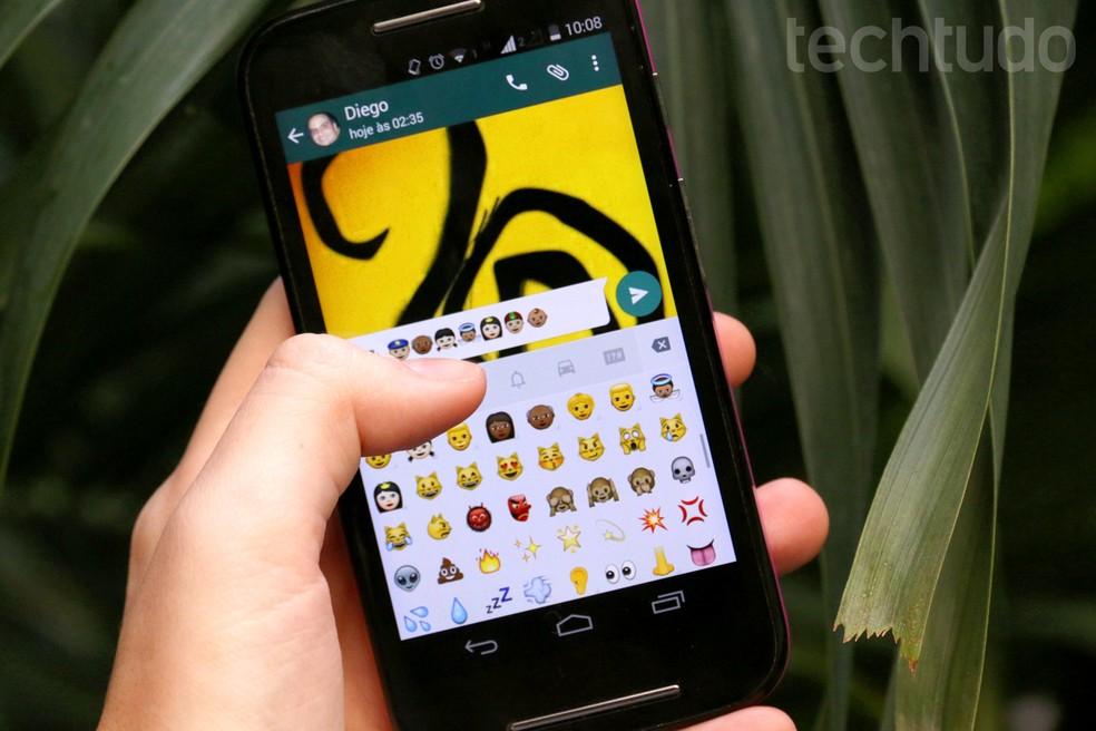 Variety of skin tones in emojis promotes diversity Photo: Luciana Maline / TechTudo