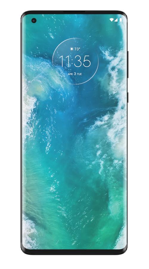 Motorola Edge + screen