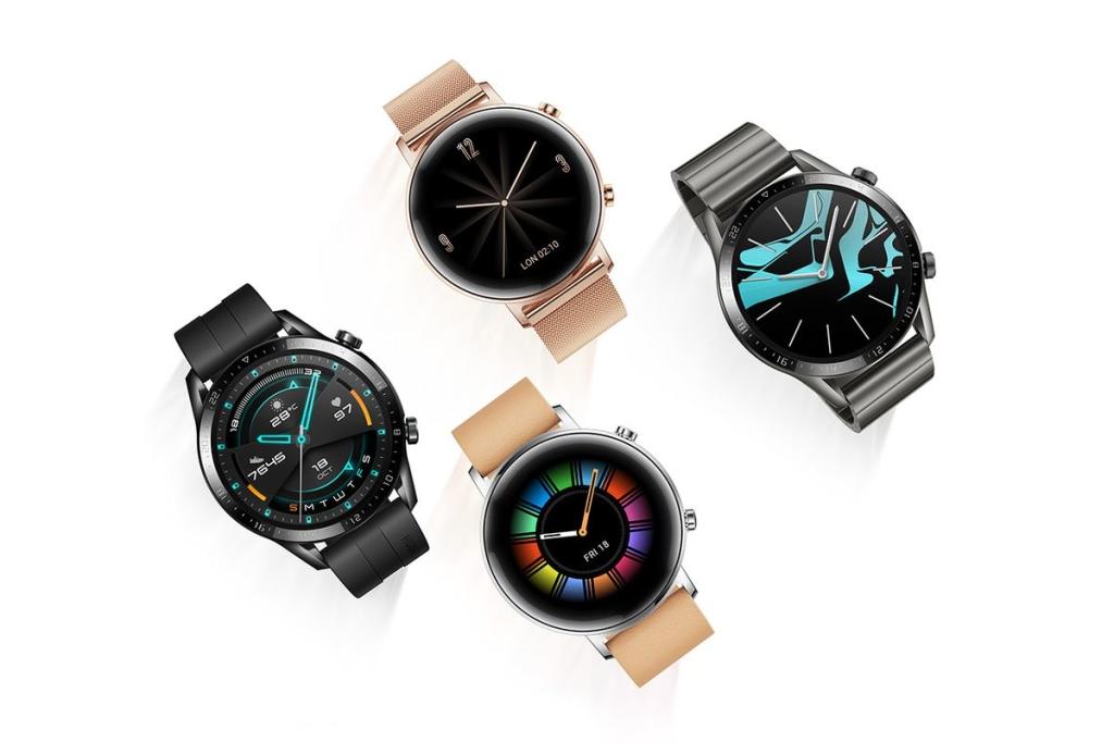 Four Huawei Watch GT 2