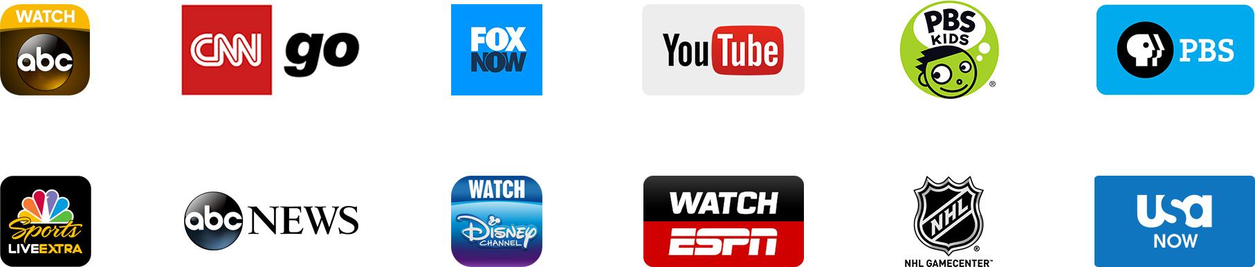 Channels on Apple TV